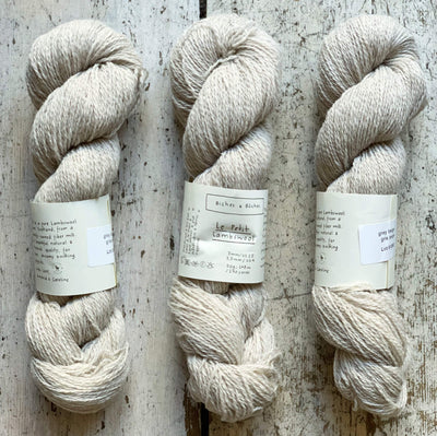 Le Petit Lambswool Biches & Bûches Yarn Le Petit Grey Beige