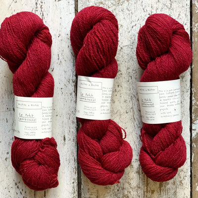 Le Petit Lambswool Biches & Bûches Yarn Le Petit Norwegian Red