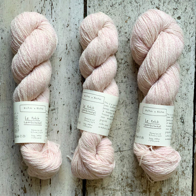 Le Petit Lambswool Biches & Bûches Yarn Le Petit Very Light Pink