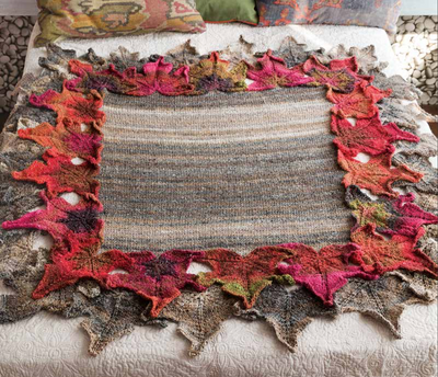 Leaf Afghan Pattern by Noro Noro Pattern