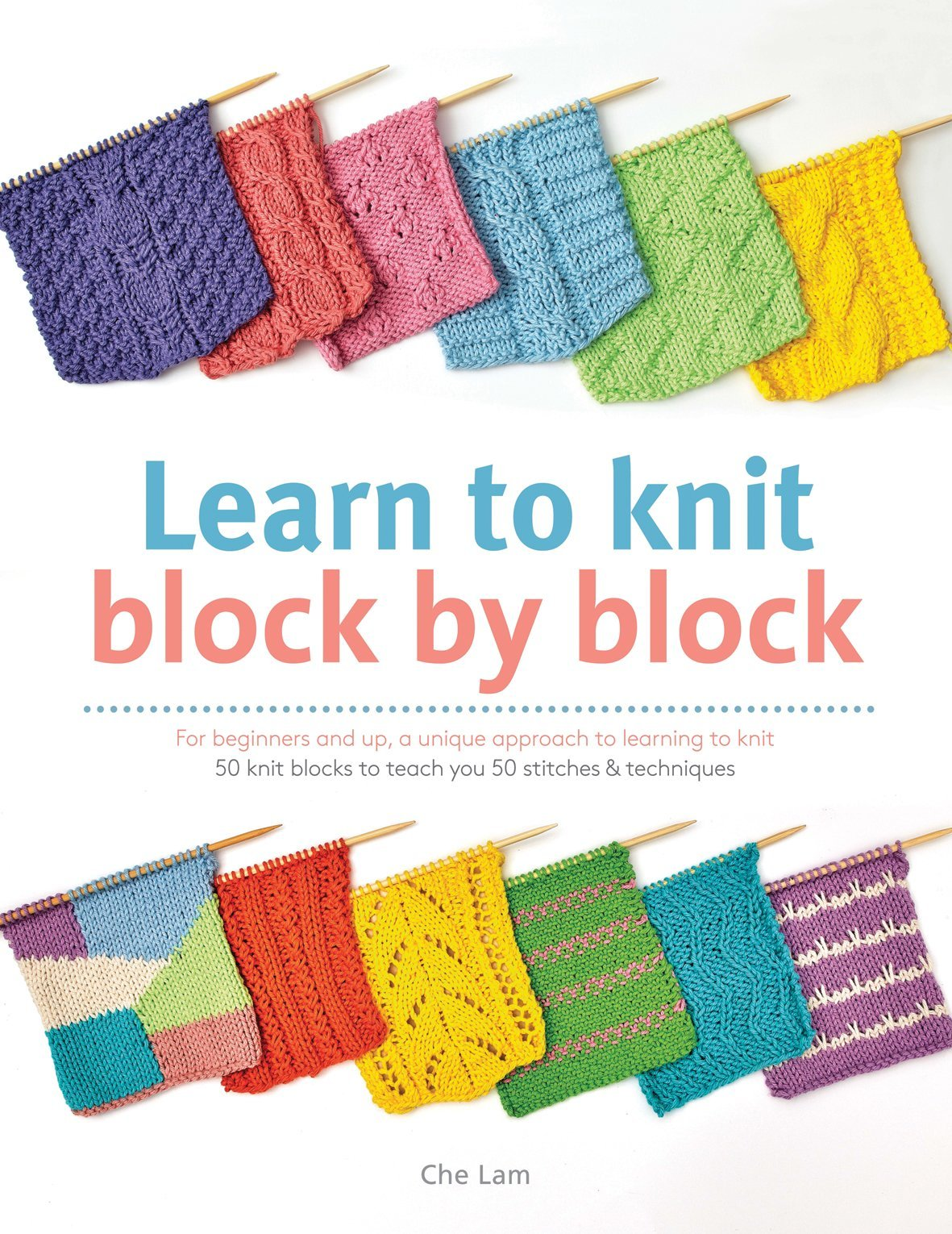 Learn to Knit Block by Block Book Search Press Book