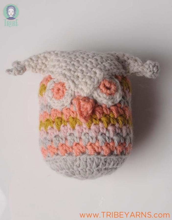 Leftover Owlet CROCHET Pattern Mrs Moon Pattern