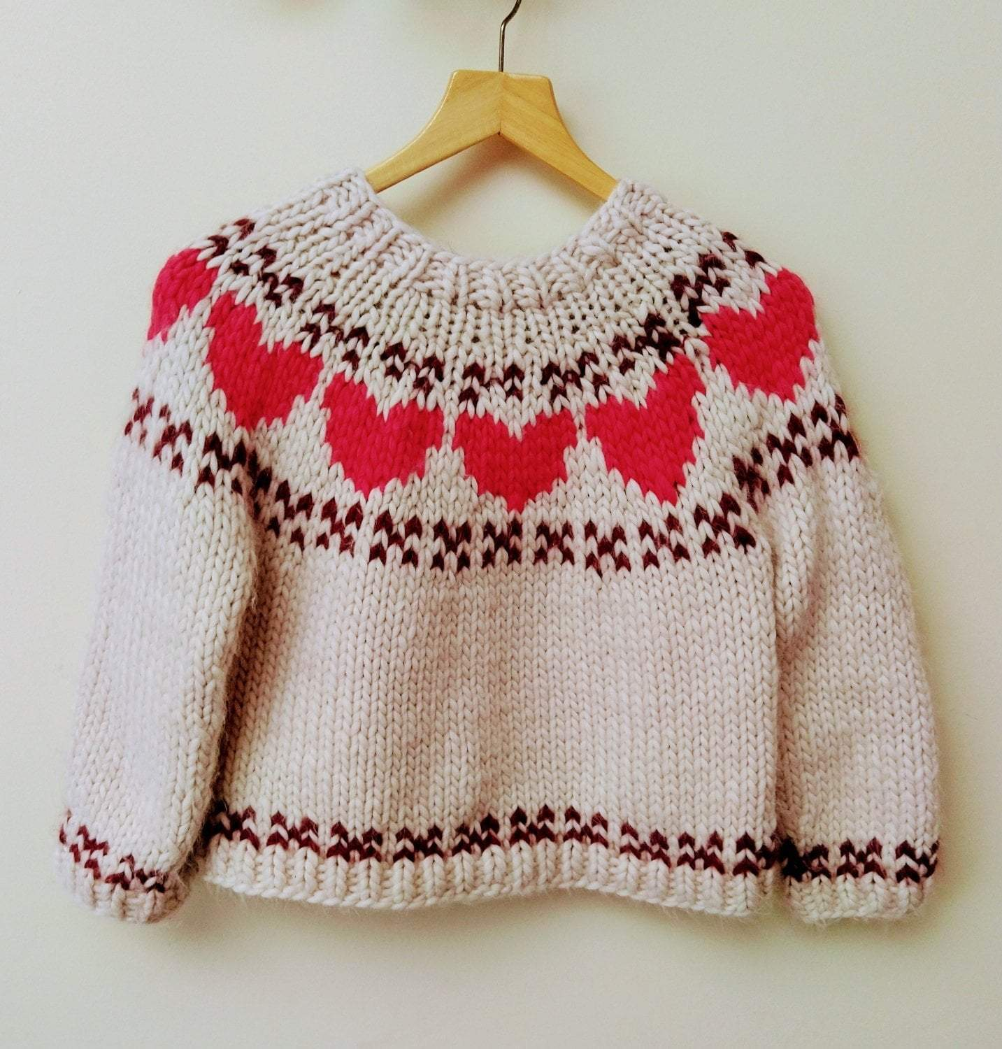 Lovestruck Jumper Pattern Mrs Moon Pattern