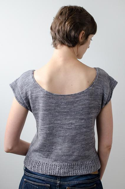 Luxa Tee Pattern Ysolda Knitting Pattern