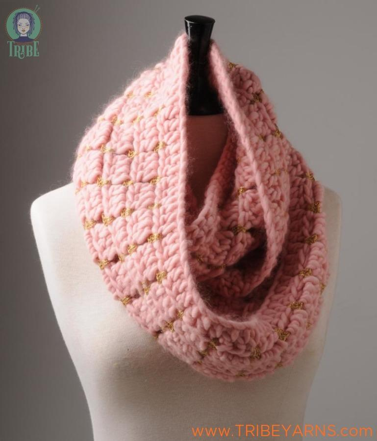 Luxury Cowl CROCHET Pattern Mrs Moon Pattern