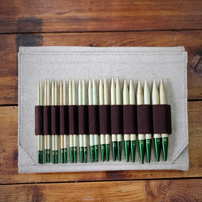 "LYKKE Grove Bamboo Interchangeable 5"" Set LYKKE Knitting Needles"