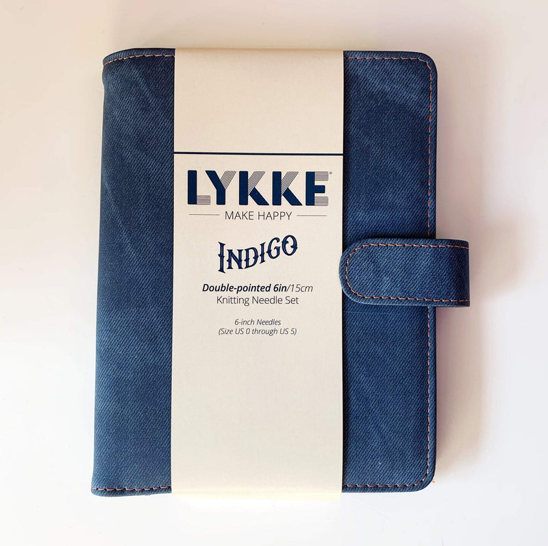 "LYKKE Indigo 6"" DPN Set - Small LYKKE Knitting Needles"