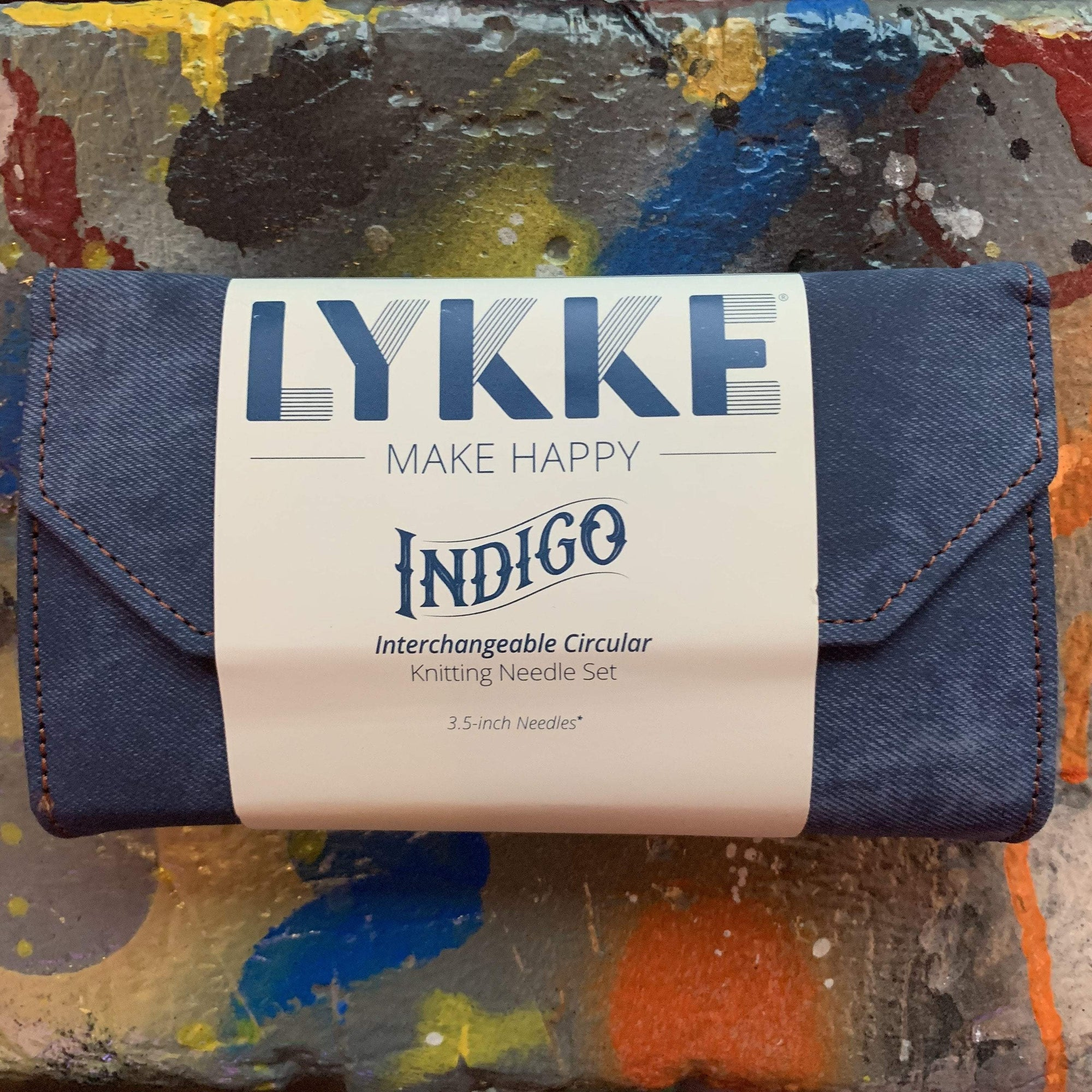 "LYKKE Indigo Interchangeable 3.5"" Set LYKKE Knitting Needles"