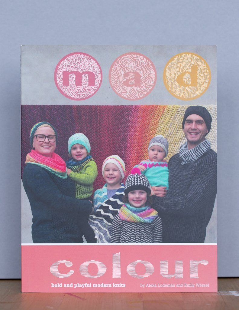Mad Colour - Tin Can Knits Ysolda Book Front Cover