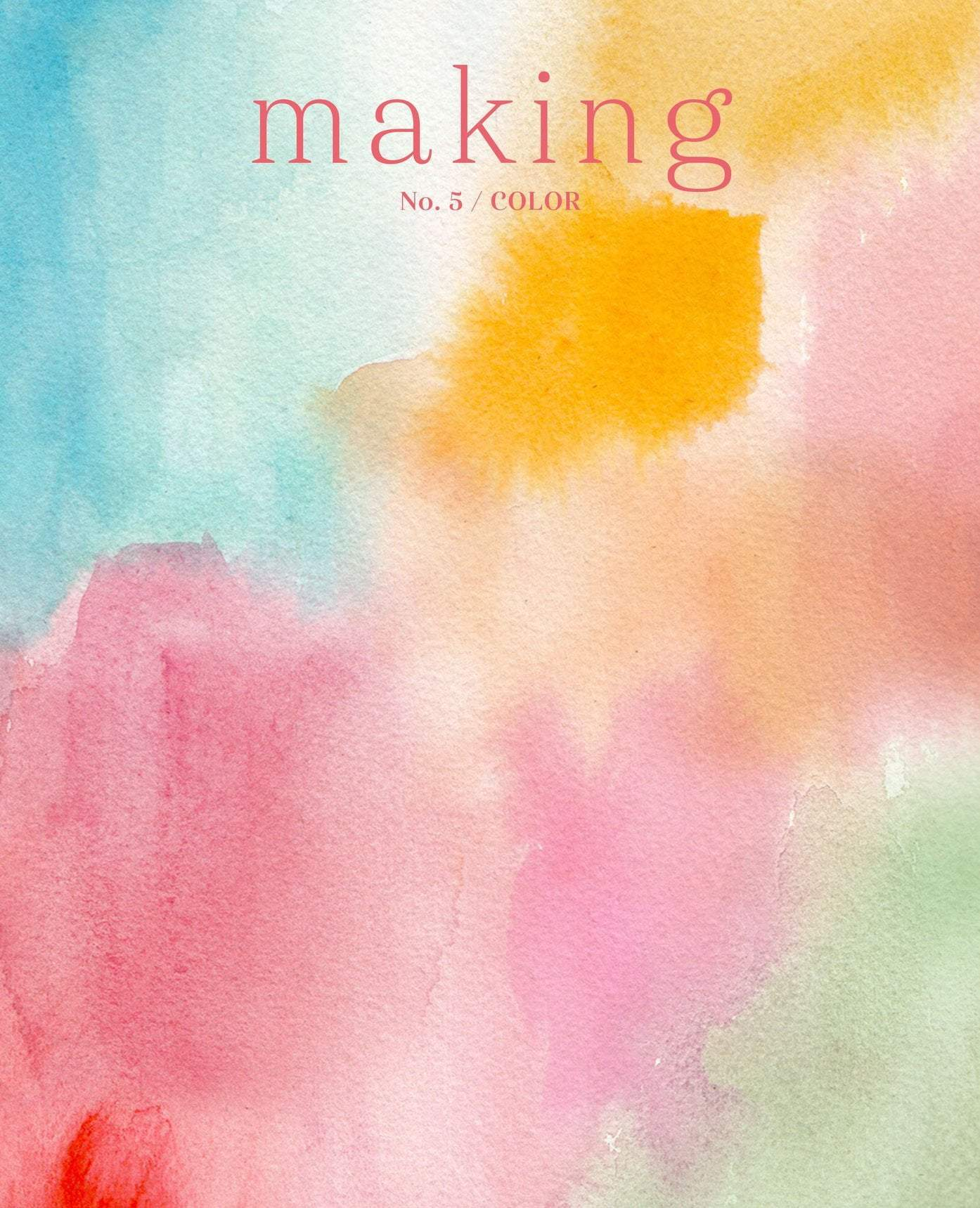 Making Magazine - No. 5 Color (Colour) Making Magazine Magazine