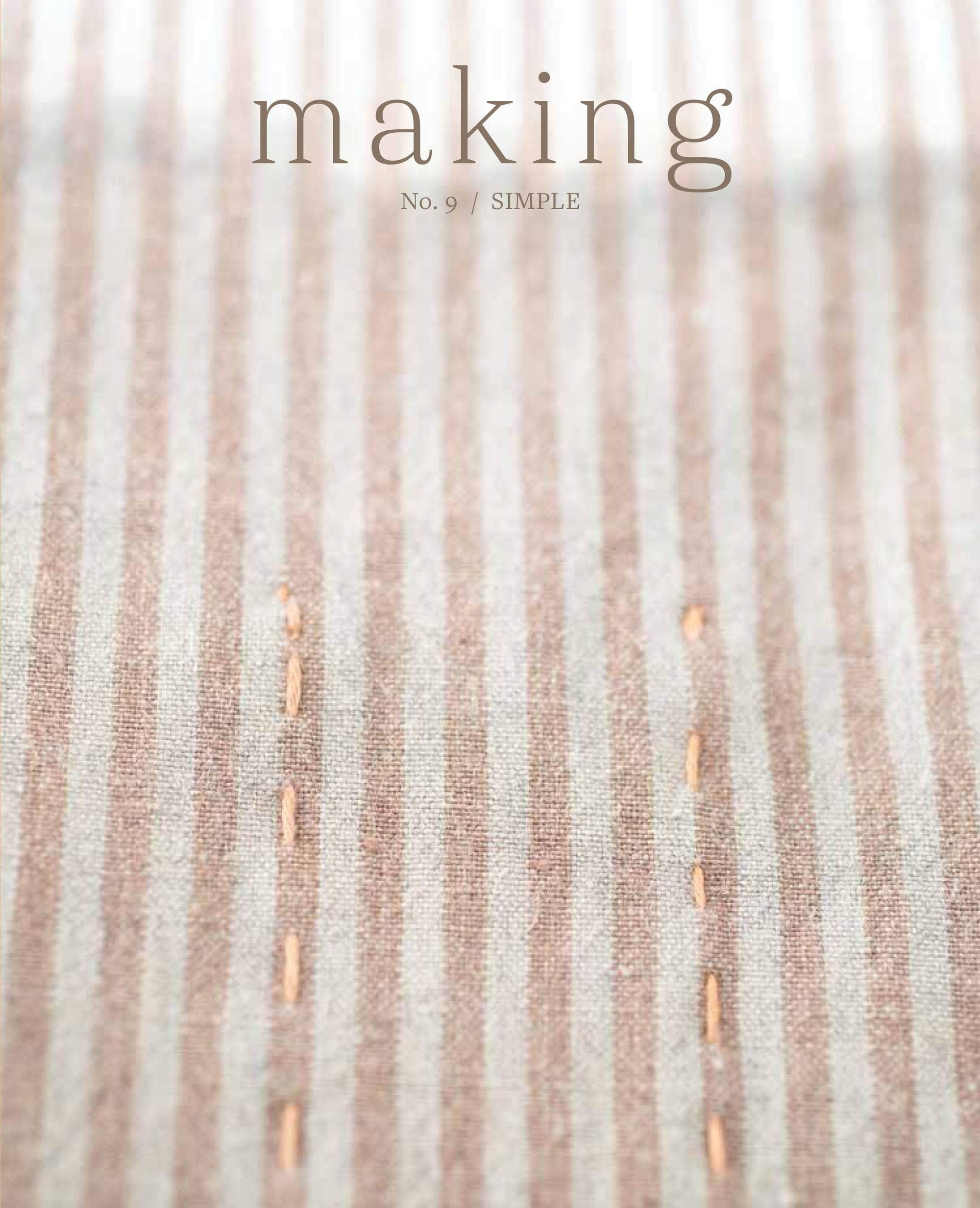 Making Magazine - No. 9 Simple Making Magazine Magazine
