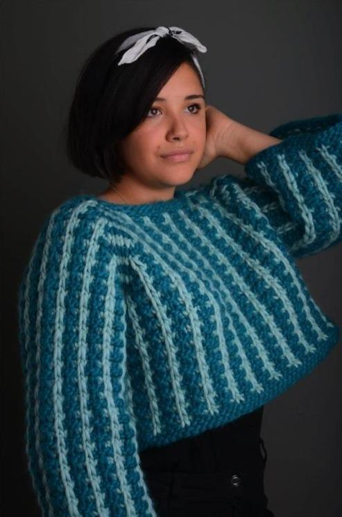 Making Tracks Jumper Pattern Mrs Moon Pattern