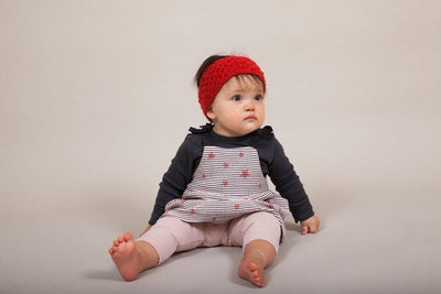 Mama & Bébé Headbands Pattern by Clinton Hill Cashmere Clinton Hill Cashmere Pattern