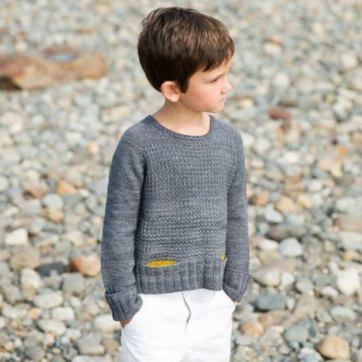 Maritime Pullover Pattern Swans Island Knitting Pattern