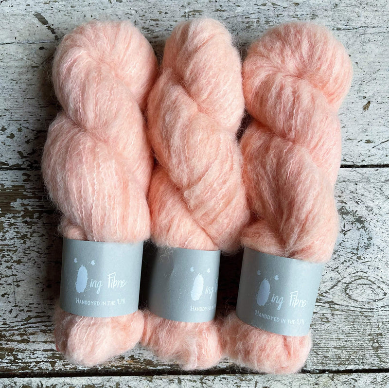 Melted Baby Suri Qing Fibre Yarn
