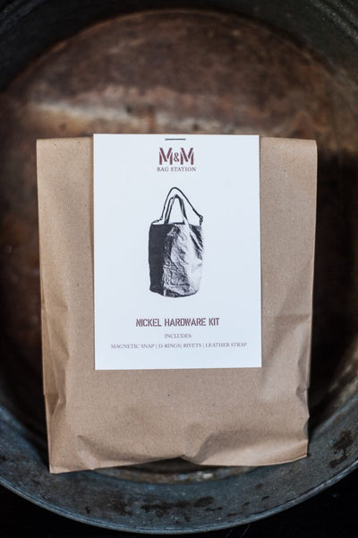 Merchant & Mills Bag Hardware Kit - Nickel Merchant & Mills Other Stuff