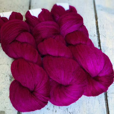 Merino Cloud Artyarns Yarn 348 Magenta Cloud