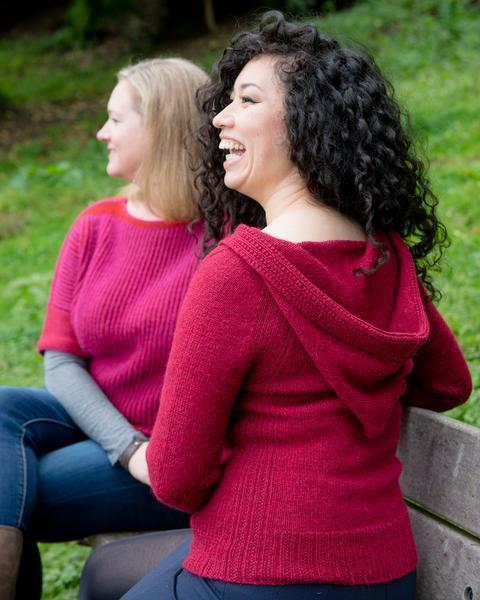 Milsom Hoodie Pattern Walcot Yarns Knitting Pattern