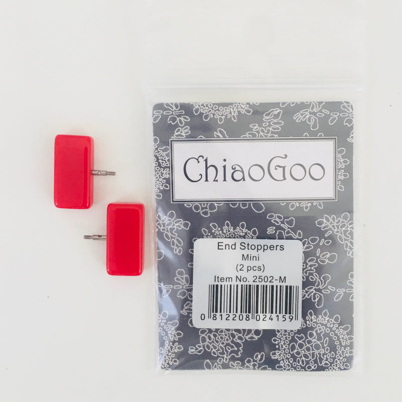 Mini End Stoppers ChiaoGoo Knitting Needles