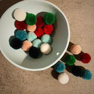 Mini Pompom Sets tribeyarns