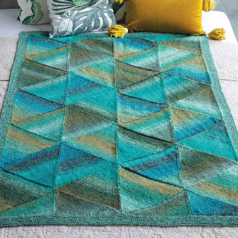 Mitered Blanket Pattern by Noro Noro Pattern
