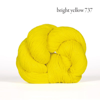 Mojave Kelbourne Woolens Yarn bright yellow 737