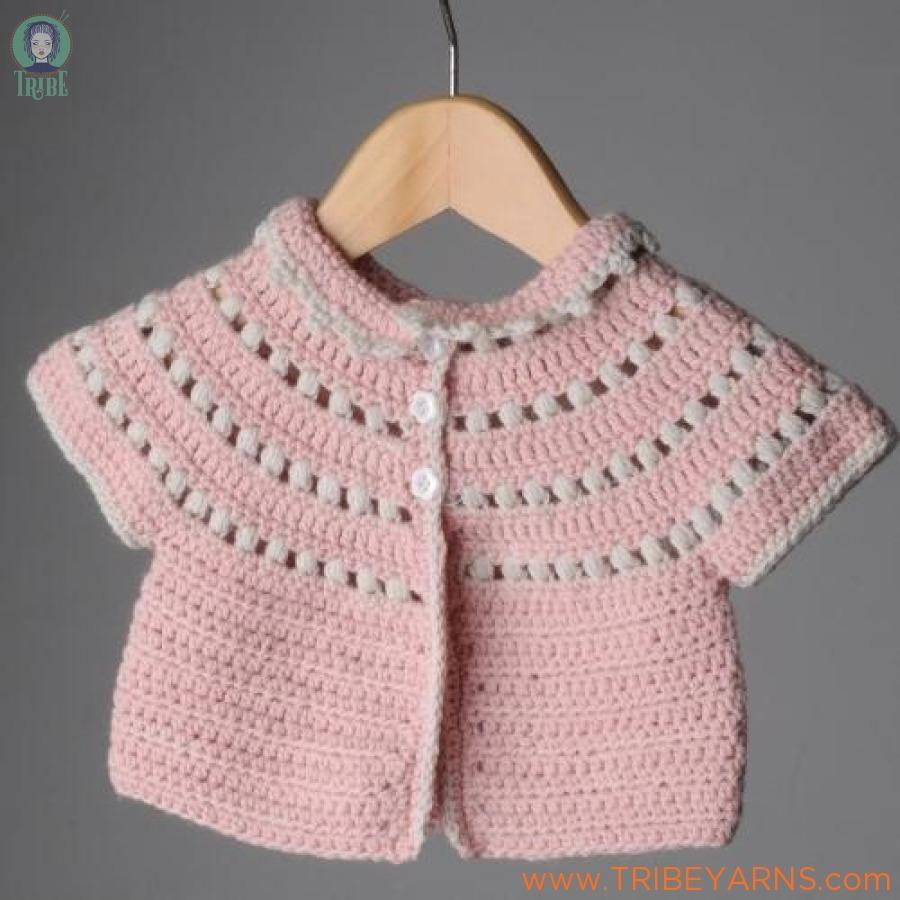 Molly Cardigan CROCHET Pattern Mrs Moon Pattern