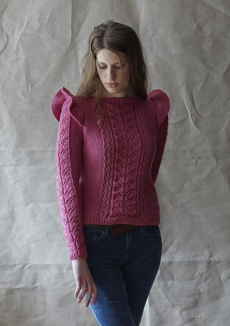 Molly Sweater Pattern Erika Knight Knitting Pattern