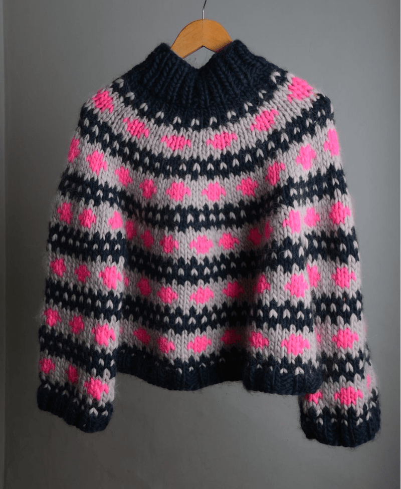 Moonstruck Jumper Pattern Mrs Moon Pattern