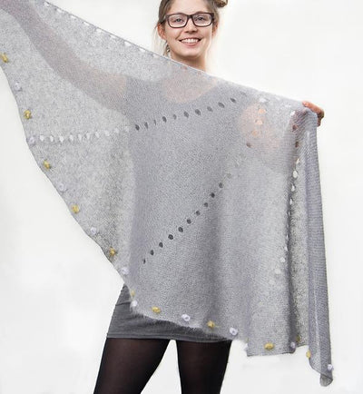 Moonwalker Shawl Pattern Jana Huck Pattern