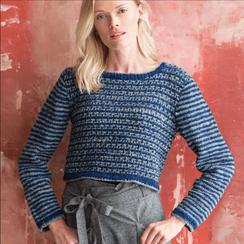 Mosaic Sweater Pattern by Noro Noro Pattern