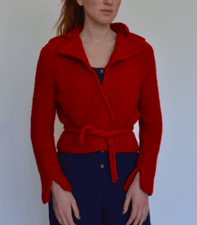 Moto Jaquette Pattern by Clinton Hill Cashmere Clinton Hill Cashmere Pattern