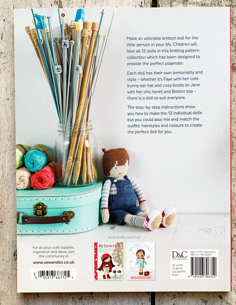 My Knitted Doll by Louise Crowther tribeyarns Book