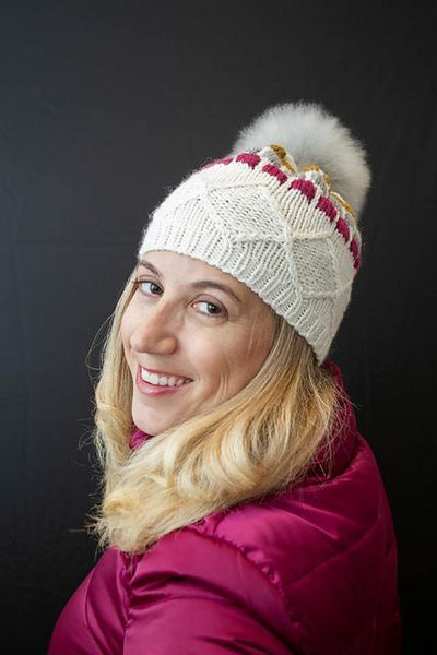 Nakiska Slopes Hat Pattern Walcot Yarns Pattern