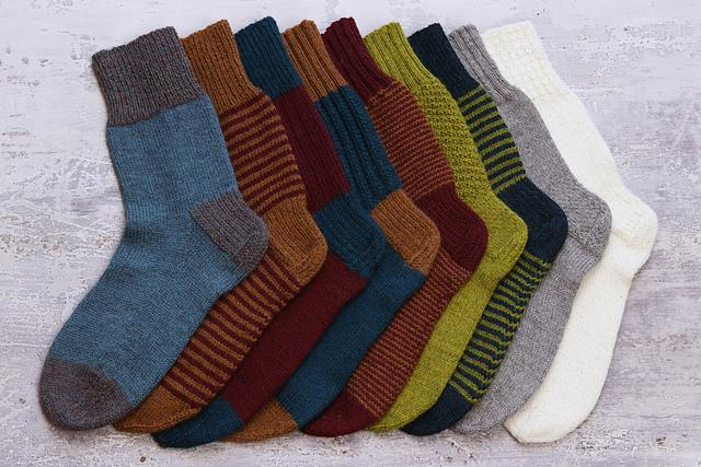 One Sock Beginner Sock Knitting Kit The Fibre Co Kits & Combos