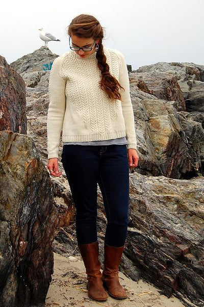 Oranmore Sweater Bristol Ivy Knitting Pattern