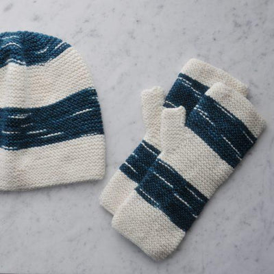 Pegasus Hat and Mitts Pattern Swans Island Pattern