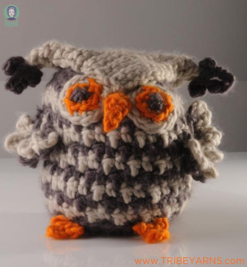 Plump Little Owl CROCHET Pattern Mrs Moon Pattern