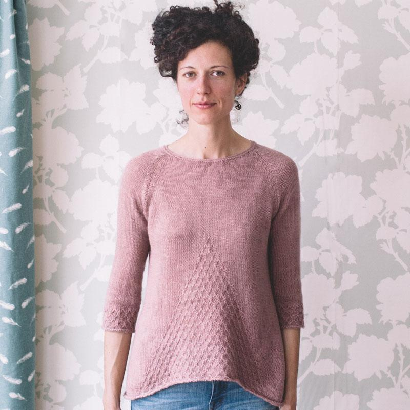 Poe Pattern Quince & Co. Knitting Pattern