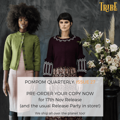 Pompom Quarterly - Issue 27: Winter 2018 Pom Pom Press Magazine