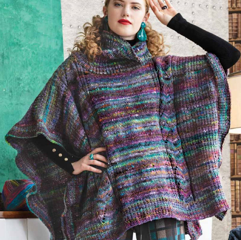 Poncho Pattern by Noro Noro Pattern
