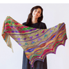 Positive Vibrations Shawl Kit Urth Yarns Kits & Combos