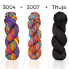 Positive Vibrations Shawl Kit Urth Yarns Kits & Combos 3004 3007 Thuja