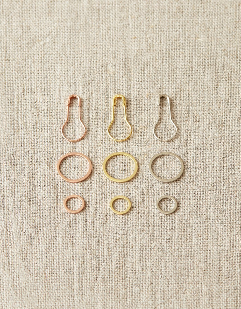 Precious Metal Stitch Markers Cocoknits Stitch Markers & Row Counters