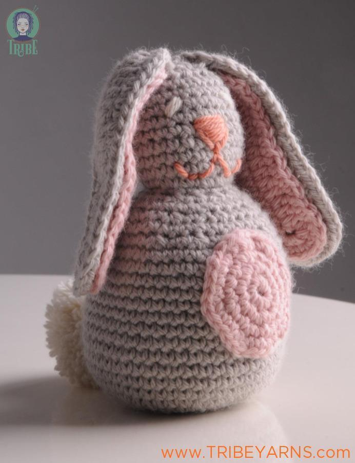 Pudding Rabbit CROCHET Pattern Mrs Moon Pattern