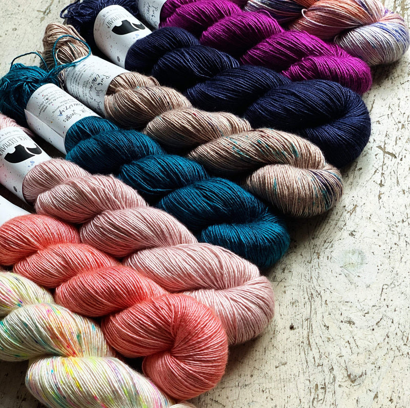 Pure Silk Singles Black Elephant Yarn