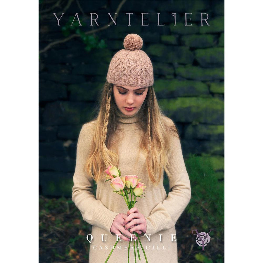 Queenie Pattern Yarntelier Knitting Pattern