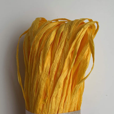 Rafia Adriafil Yarn Yellow 70