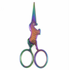 Rainbow Unicorn Scissors tribeyarns Scissors & Snips