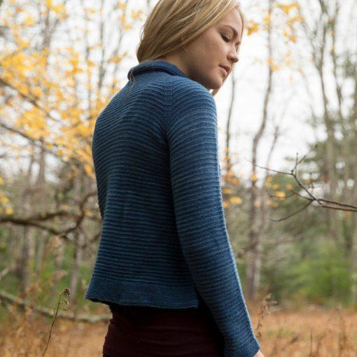 River's Edge Pullover Pattern Swans Island Knitting Pattern